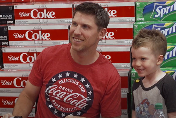Coca-Cola : Thanking First Responders